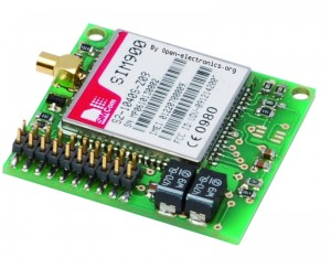 Small Breakout for SIM900 GSM Module