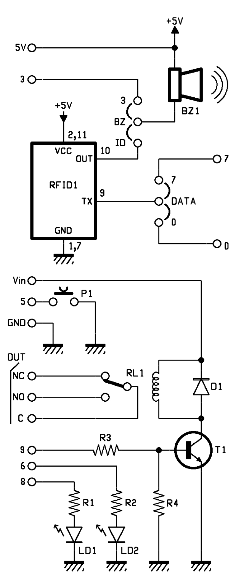 Pin Relay Wiring Diagram Wiring Diagram And Engine Diagram - 5 pole relay wiring diagram