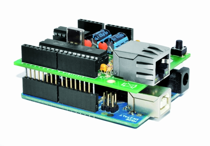 Low Cost Ethernet Shield With Enc28j60 Open Electronics
