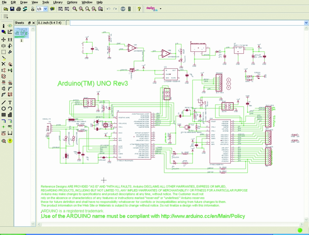 The gallery for gt arduino uno layout