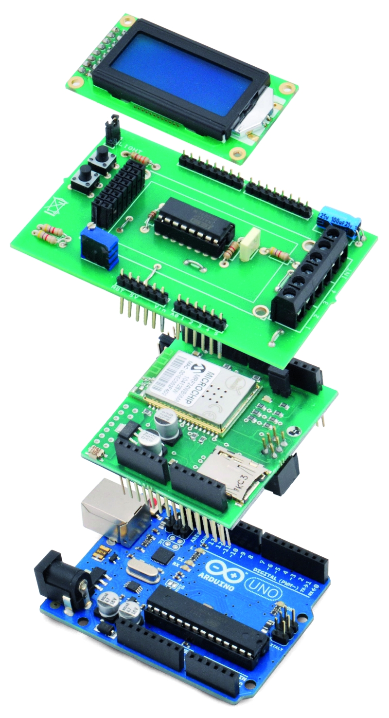 Wi Fi Body Scale With Arduino Open Electronics How To Set Up Load Sensor In A Full Bridge Amplifier The