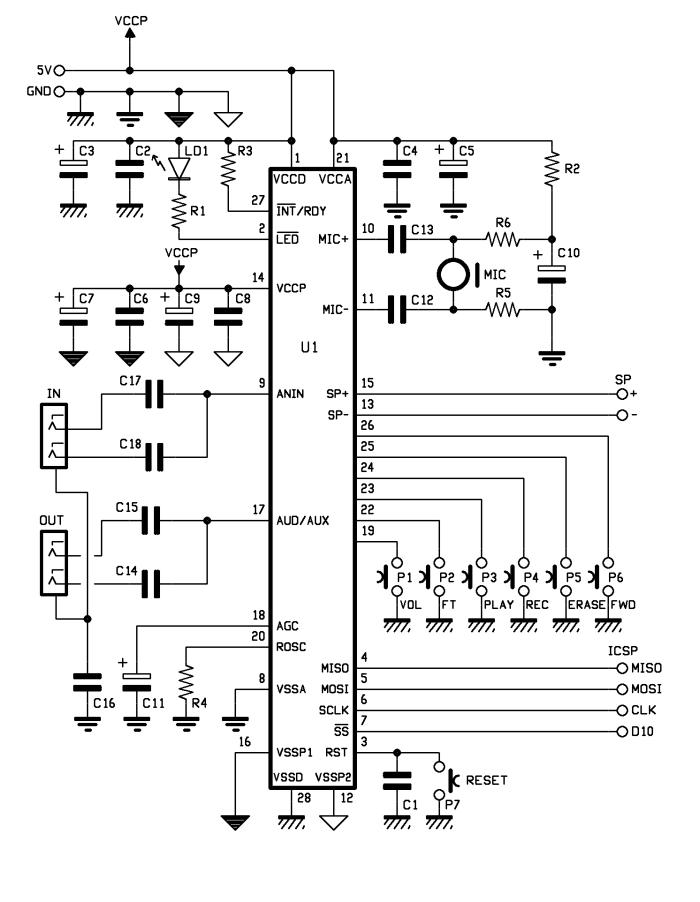 Complete Circuit Diagramvoice Recogniion