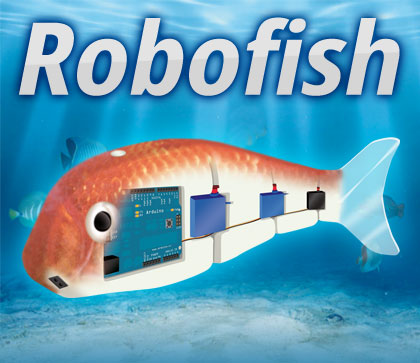 Robofish Create Your Robot Fish With Arduino Open