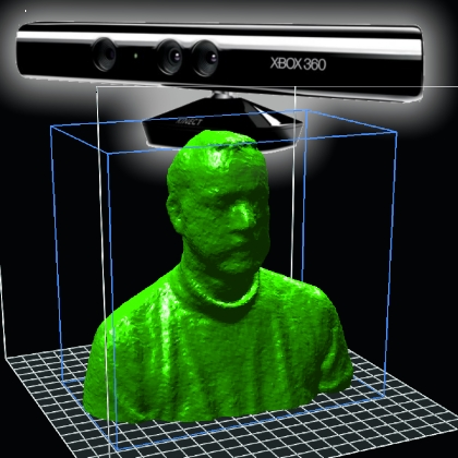 Kinect For 3d Scans Open Electronics