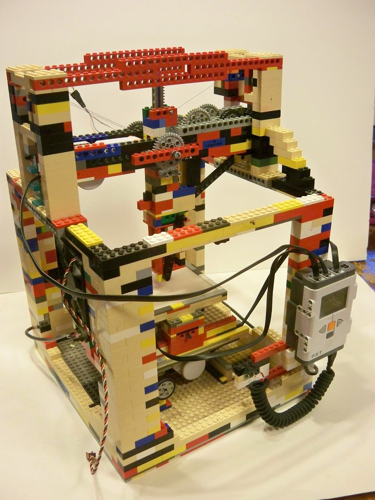 A Lego 3d Printer You Can Build On Your Own Open Electronics