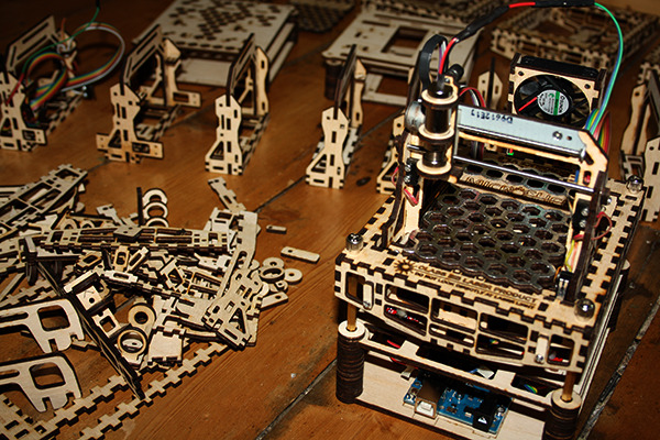 Build Your Car >> MicroSlice is an Arduino Mini Laser Cutter & Engraver (on ...