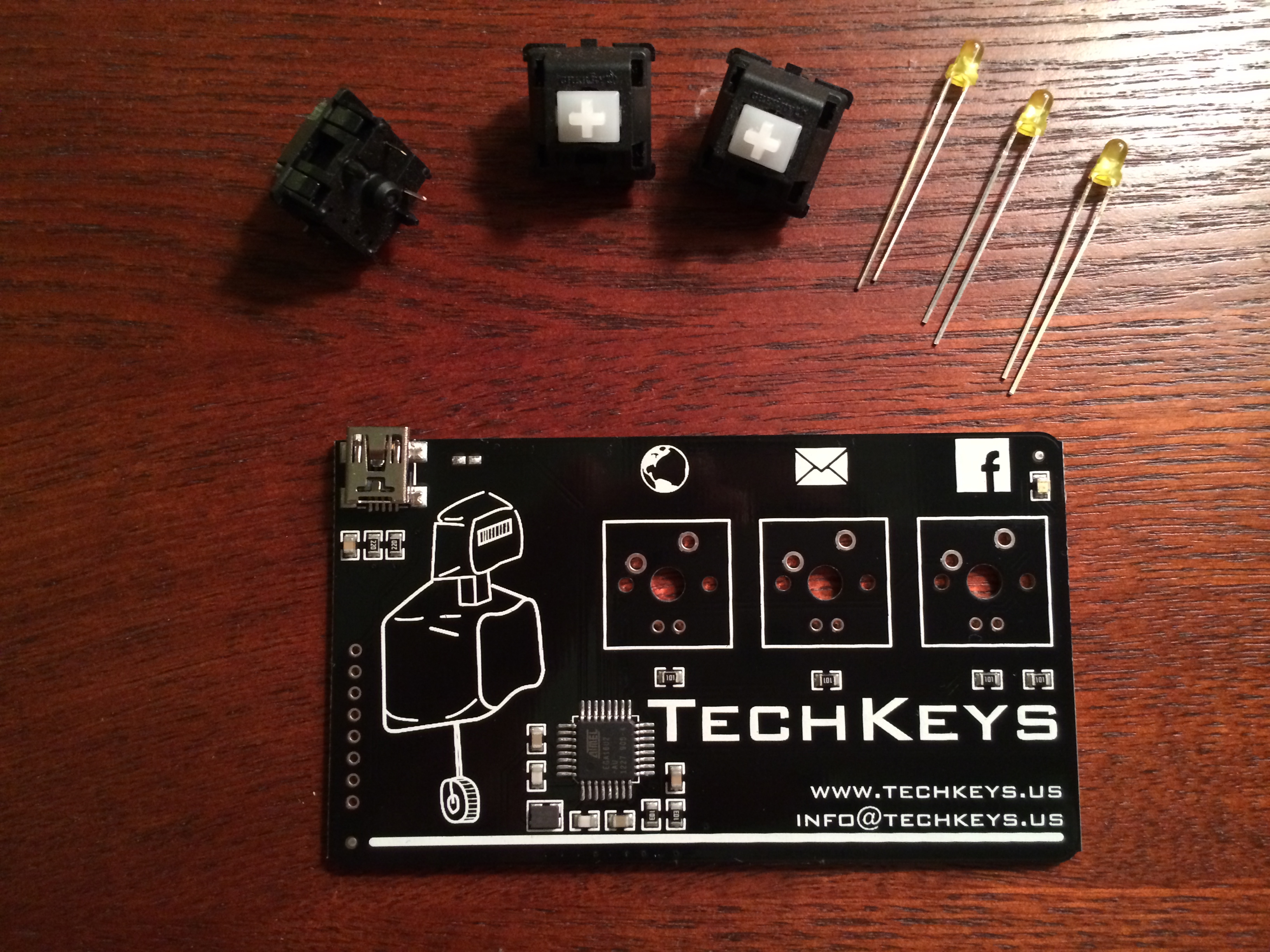 Techkeys business card keyboard open electronics board and supplies colourmoves