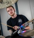 Cyborg-drummer-holds-down-the-beat-with-prosthetic-arm