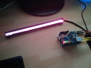 Lanp Diy Network Controllable Rgb Lamp Arduino Powered