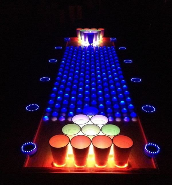 The Interactive Led Beer Pong Table Is On Instructables Open Electronics