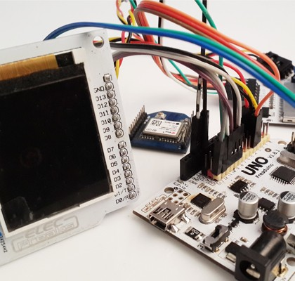 gps navigation system based on Arduino