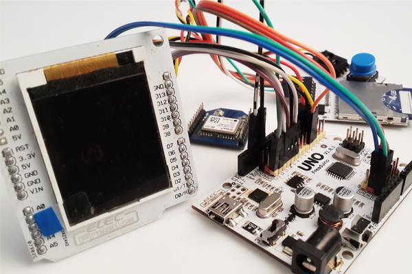 Arduino gps map navigation system open electronics