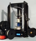 Tegelbecker's DeltaTrix3D printer