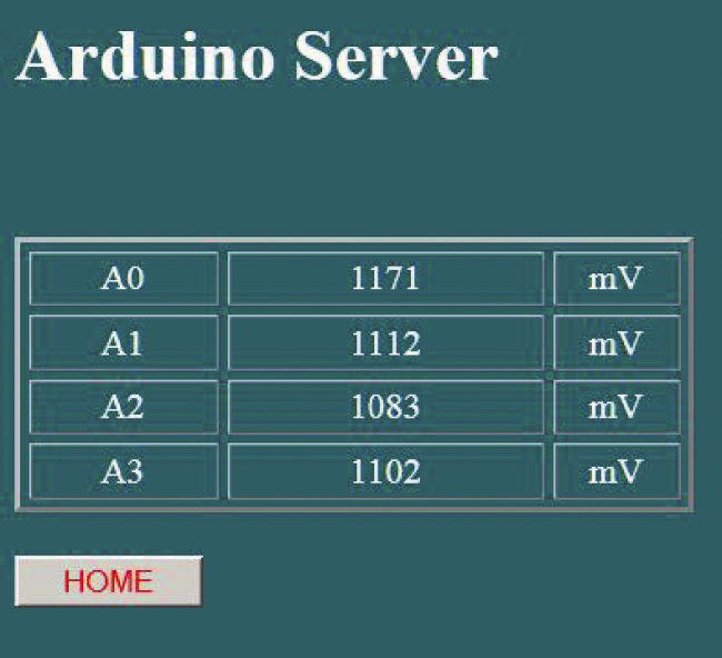 Equipping Arduino with a powerful Web server thanks to the Wi-Fi