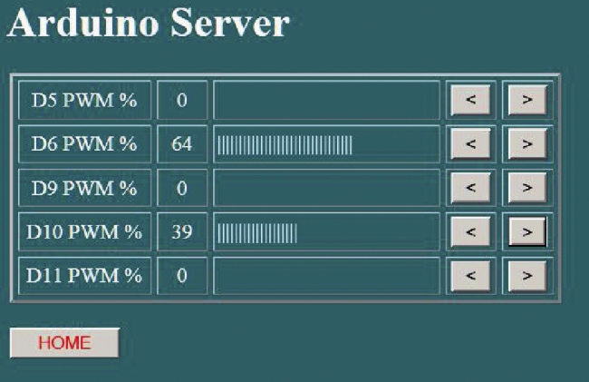 Equipping arduino with a powerful web server thanks to the