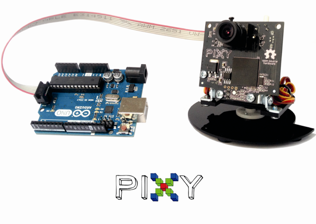 Pixy Camera Detect The Colour Of The Objects And Track Their Position on Addition Tests