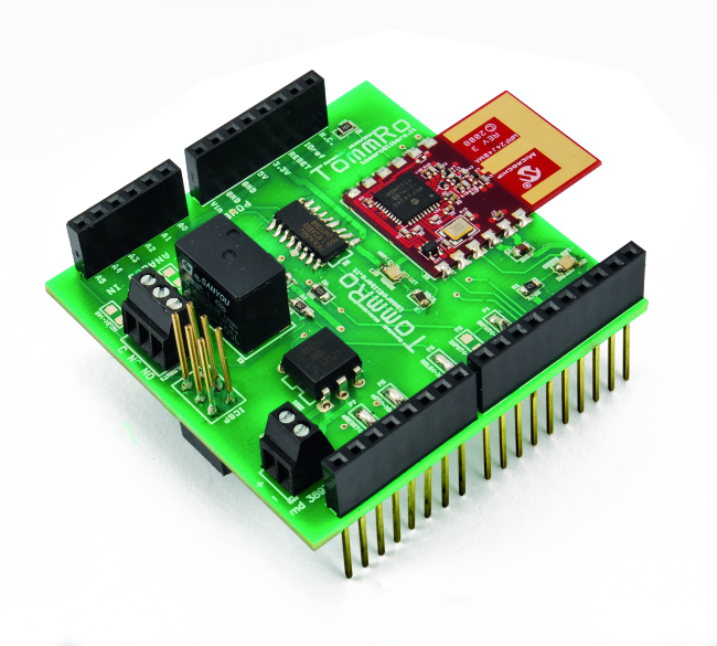 Welcome To The Arduino Mrf24j40 Wireless Shield Open Electronics