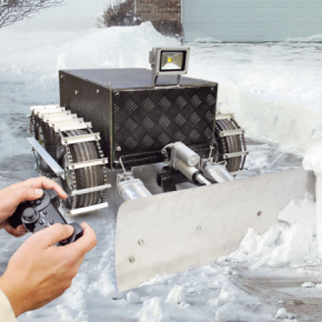 Here Comes The Open Source Snow Plow Robot Open Electronics