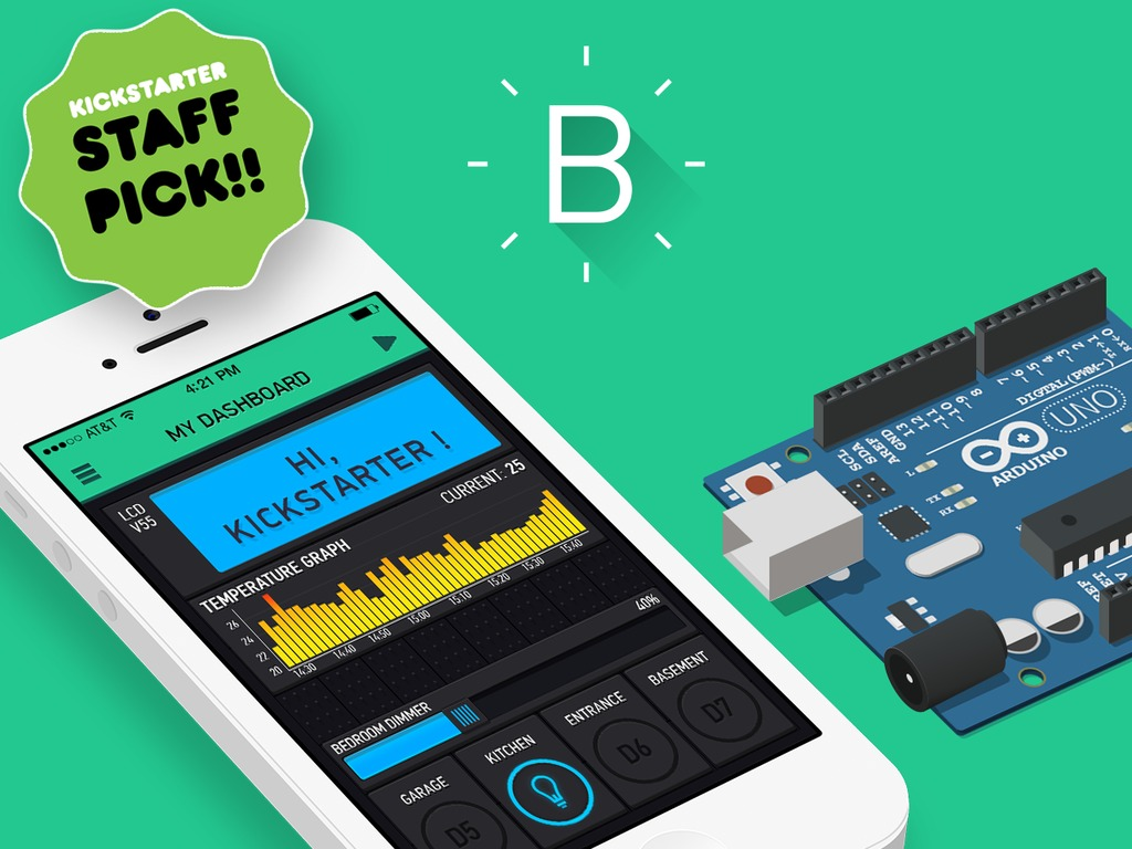 Blynk let\'s you build apps for your Arduinos with your Smartphone ...