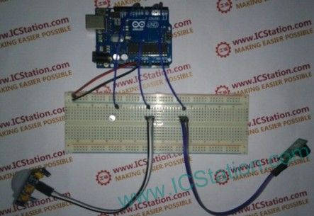Human Body Induction Alarm Based On Arduino With Arduino