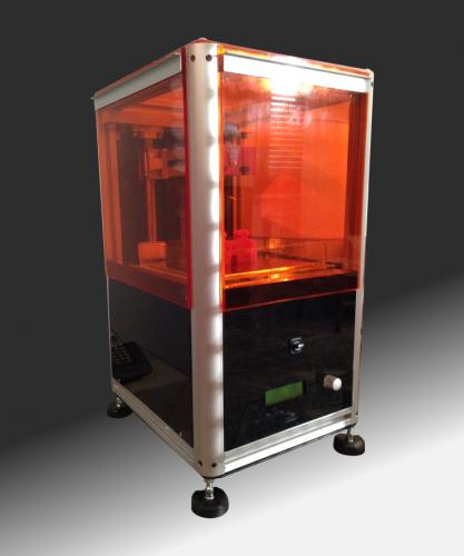 sla 3d printer the fsla open electronics. Black Bedroom Furniture Sets. Home Design Ideas