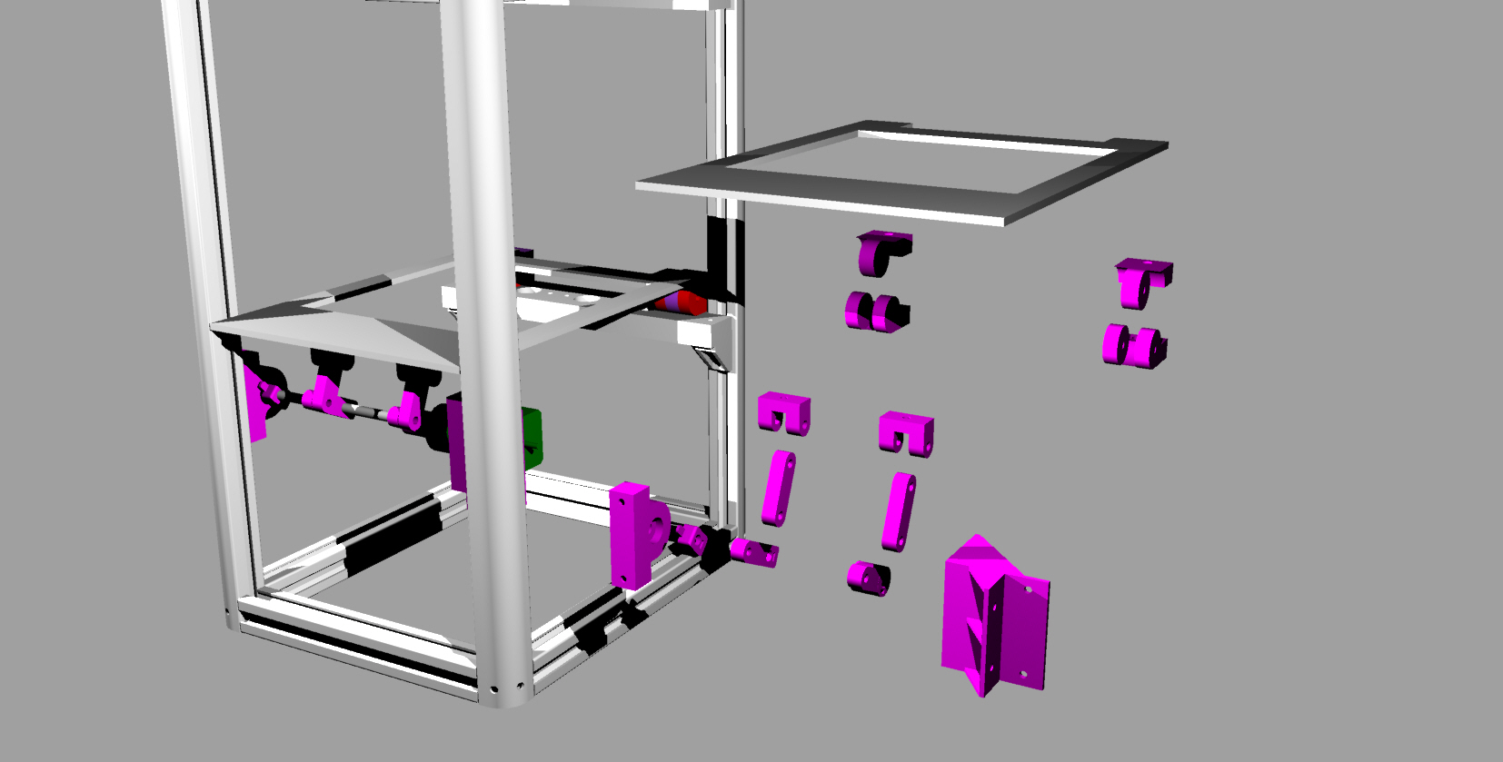 Sla 3d Printer The Fsla Open Electronics Ramps 1 4 Wiring Diagram All Image About Circuit