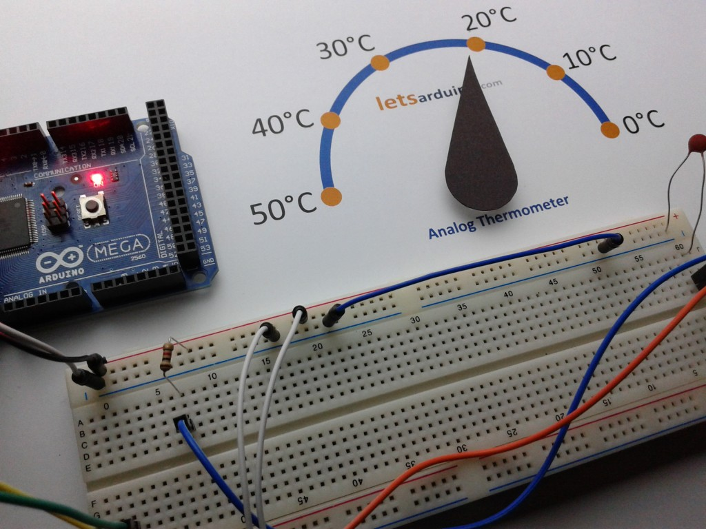 Tutorial Using Ntc Thermistors With Arduino Garagelab Arduino