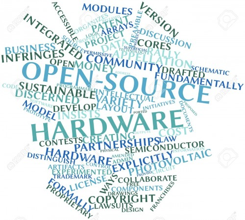 16084089-Abstract-word-cloud-for-Open-source-hardware-with-related-tags-and-terms-Stock-Photo