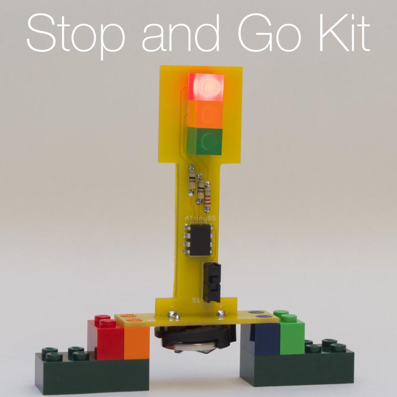 Diy Christmas Light Controller Kit: Christmas DIY Project For Children 2/3: Traffic Light