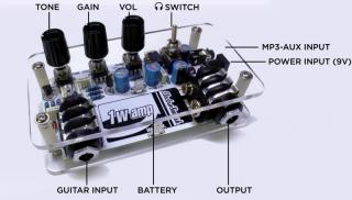 Make Your Own Open Hardware Guitar Amplifier Open