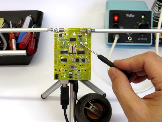The real open source theremin on arduino electronics