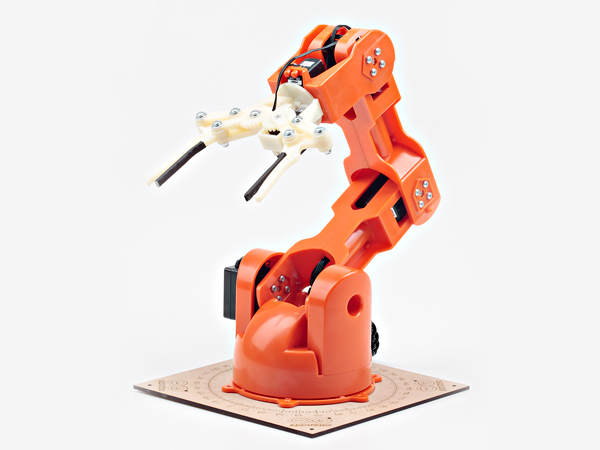 Braccio Diy Tinkerkit Robotic Arm Arduino Controlled
