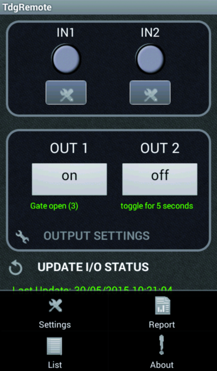 An Android App To Manage The Gsm Remote Control Open Electronics Automations Gt Relay Circuits Rf 433mhz 3 Channels Since After First Installation We Cant Know What Is Current State You Will Need Send Update Request Command By Pressing