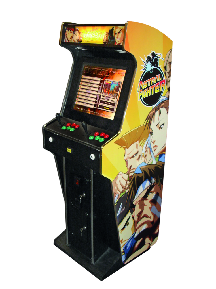 Buiding An Arcade Coin Op Machine To Rediscover The 80 90s