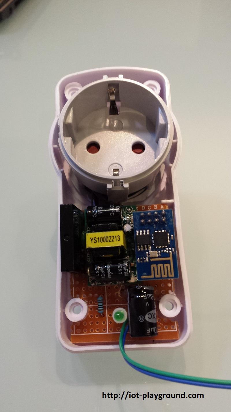 ESP8266 Internet Connected Switch (EasyIoT Cloud MQTT API V1) | Open ...