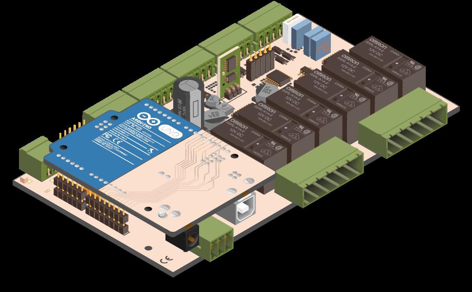 Iono a professional arduino based module open electronics