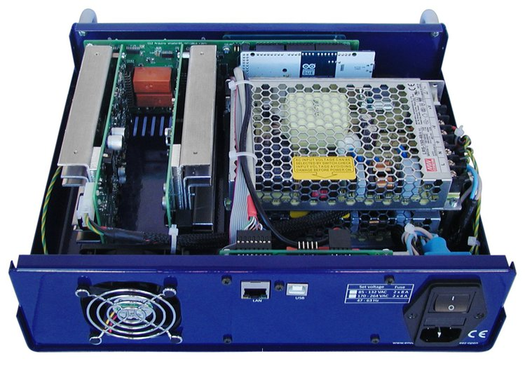EEZ H24005: a dual-channel, open source power supply | Open Electronics