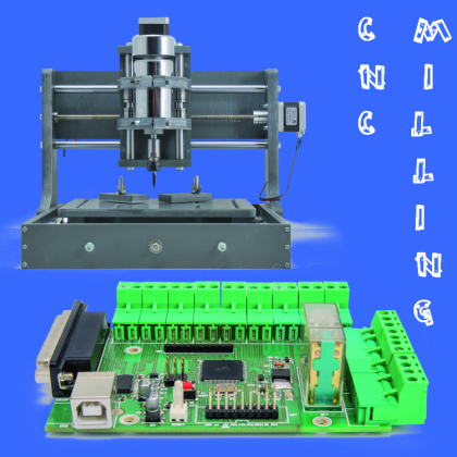 FEATURED controlling our simple cnc miling machine via usb open electronics