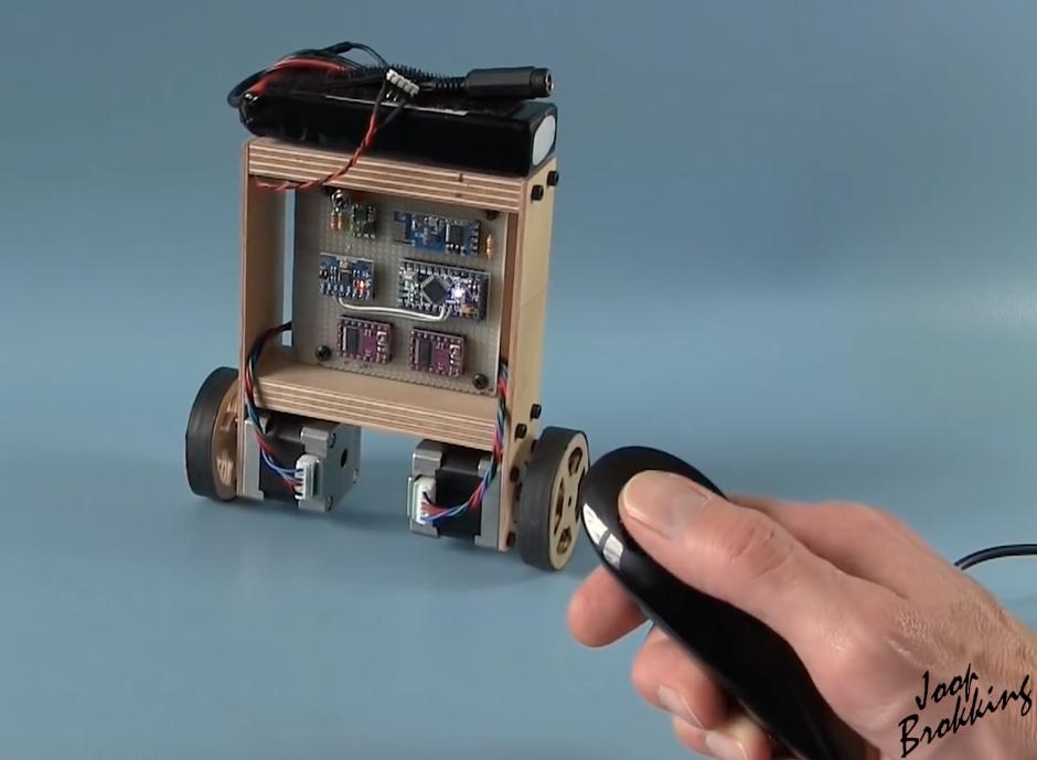 Diy arduino self balancing robot open electronics