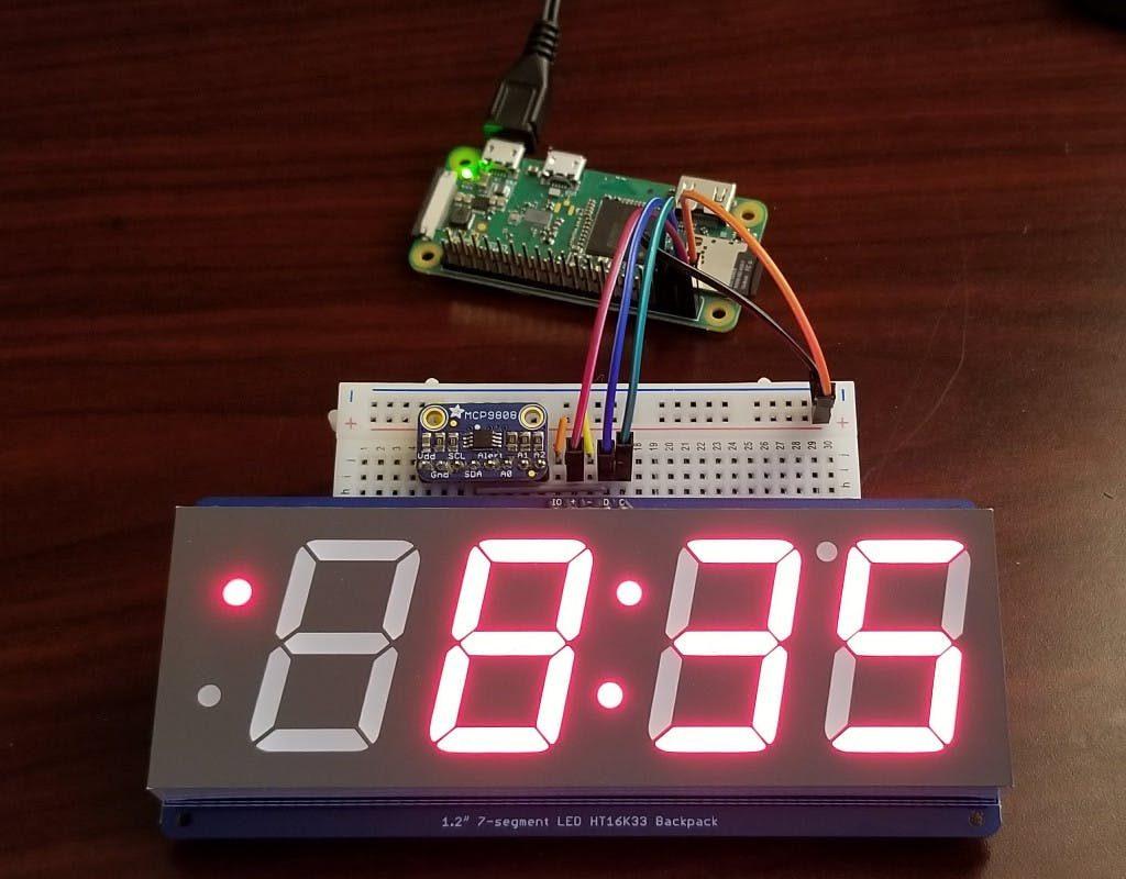 how to build a digital clock