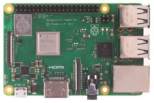 Raspberry-Pi-3-Model-Bfront-500x335 Diamo il benvenuto al nuovo Raspberry Pi 3 B+