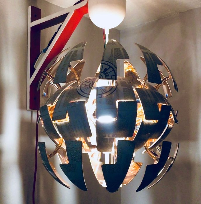 diy an alexa enabled death star lamp open electronics. Black Bedroom Furniture Sets. Home Design Ideas