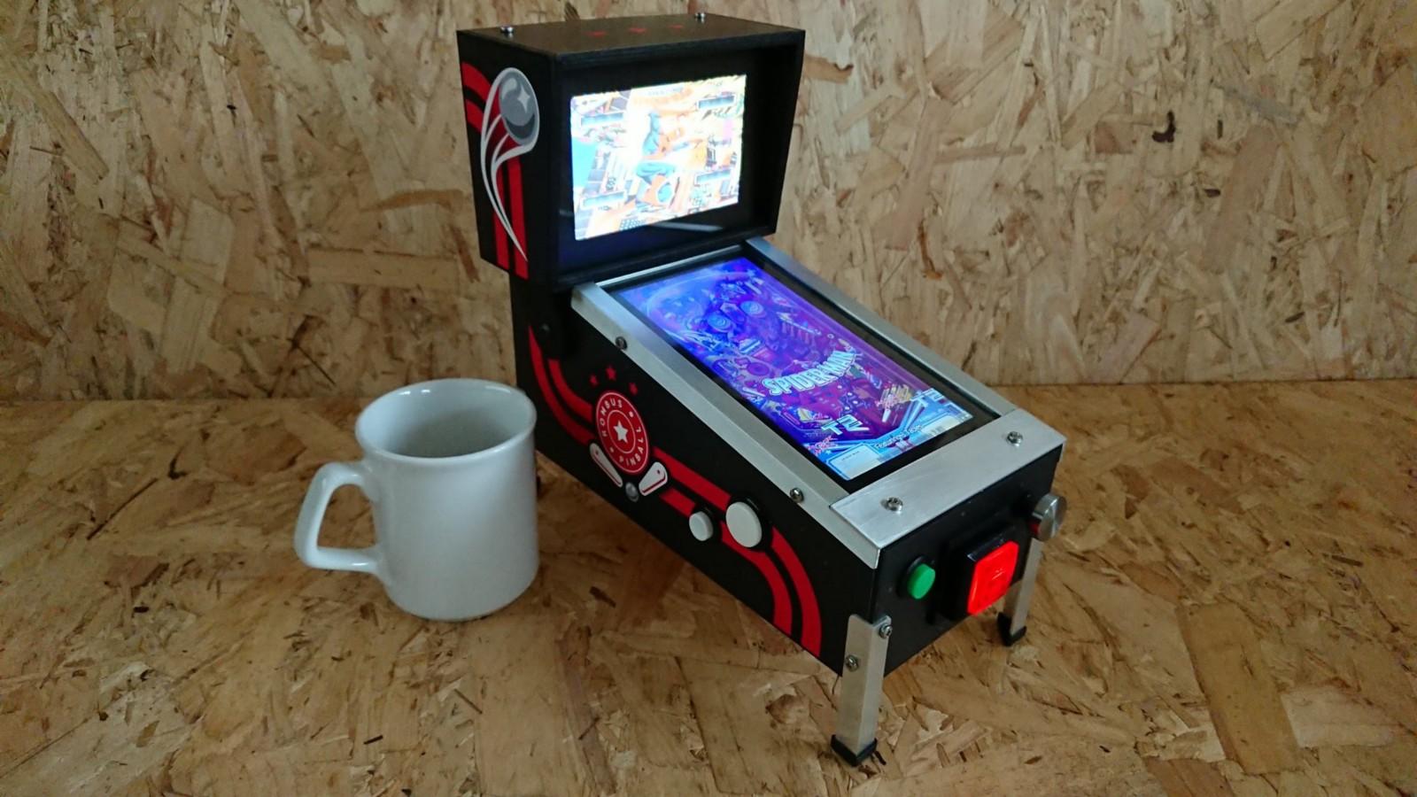 7 screen tehnobay ako uivate u igri fliper zasigurno ste zainteresirani za ovu nevjerojatnu emisijsku postaju rombus pinball koju je razvio razvojni programer i proizvoa fandeluxe Images